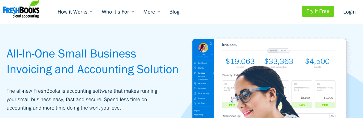 FreshBooks: All-in-One Small Business Invoicing and Accounting Solution
