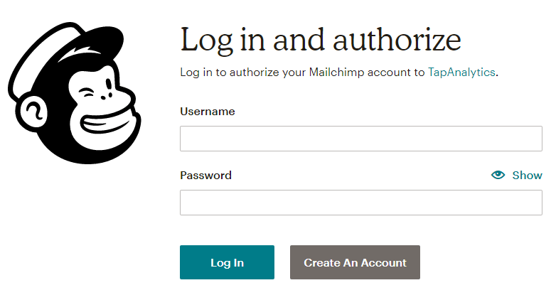 Using the TapClicks MailChimp Connector