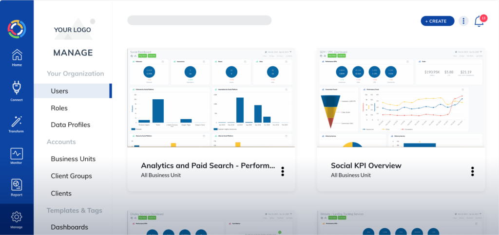 Data transformation and enrichment with TapClicks paid media reporting tool