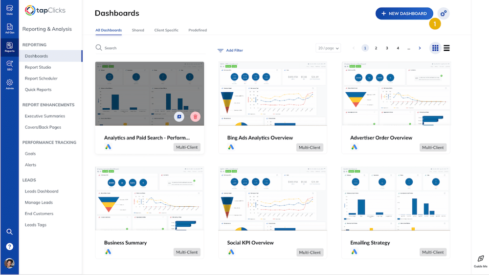 TapClicks: An eCommerce analytics tool for enhanced analytics and reporting
